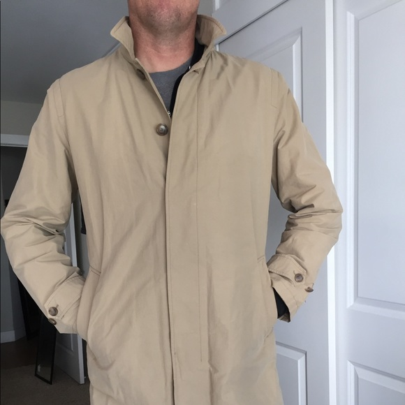 e01ccf1ff J.Crew Sutherland Trench Coat (XL-tall)